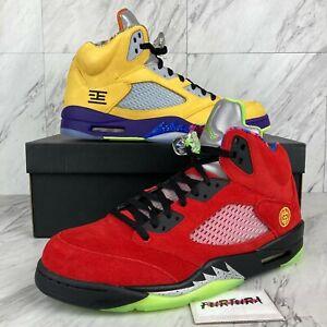 "Nike Air Jordan 5 Retro SE ""What The"" Men's Size 13 Shoes CZ5725-700 B-Grade"
