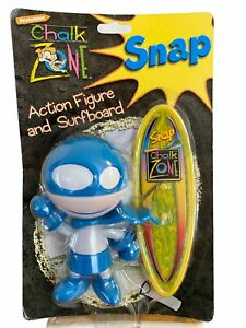 Nickelodeon Chalk Zone Snap Action Figure and Surfboard 2003 Wendy's Kids Meal