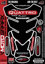Official Quattro Plant Kawasaki BSB 2013 14 15 16 Tank Pad Tankpad By Motografix