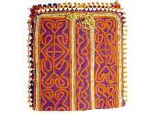 antike afghan Nomaden gestickte Geldbeutel beutel bag Portemonnaie Geldbörse Nr7