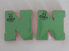 NEW 2 Letter N Initial Sticky Alpha Pads Notes Supplies Craft Scrapbook Colorbok