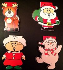 12 Xmas Christmas Party Filler Mini Notebook Notepad With PUFFY SANTA STICKERS