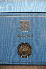 2 euro commémorative Vatican 2012, neuve dans son coffret officiel
