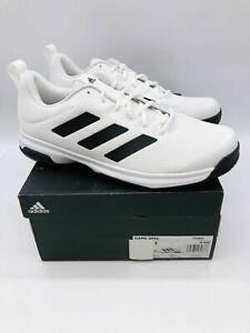 adidas Men's Game Spec Athletic Tennis Shoes  - White