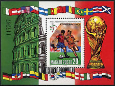 Hungary 1990 SG#MS3984 World Cup Football MNH M/S #D2653