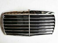 1979-91 for Mercedes S Class W126 Assembly Black Grille with Chrome Frame Sedan