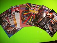 Lot Of (6) Original NOS Pinball FLYERS Doctor Who Dirty Harry Hurricane Set  #33