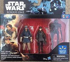 Star Wars Rogue One Sergeant Jyn Erso Captain Cassian Andor
