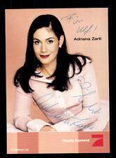 Adriana zartl pro 7 autografiada mapa original firmado # bc 87695