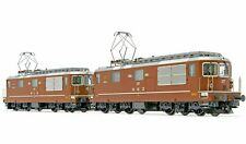 Rivarossi HR2813, HO Scale,Twin Pack electric loco class Re 4/4, SEZ/BLS