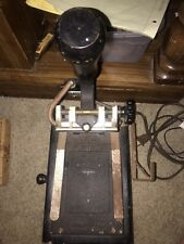 Vintage FRANKLIN HOT FOIL STAMPING MACHINE w Box of Dura Cast Type