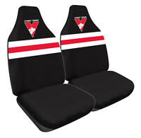AFL Front Car Seat Covers - Sydney Swans - Set Of 2 One Size Fits All
