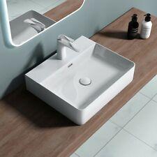 Aufsatzwaschbecken Waschbecken aus Keramik weiß Anthrazit Waschtisch Mei201