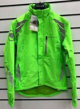 Endura Womens Luminite DL Cycling Jacket HV Green. XS