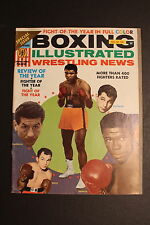 Cassius Clay MUHAMMAD ALI February 1965 BOXING ILLUSTRATED WRESTLING NEWS Mag FN