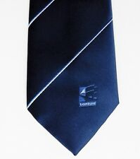 Lombard company tie vintage 1980s old logo finance corporate financial