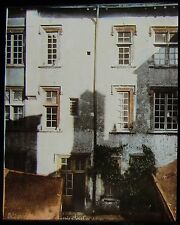 Glass Magic Lantern Slide A HOUSE IN ORLEANS C1900 FRANCE PHOTO JOAN OF ARC