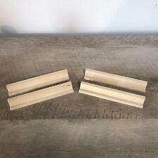 Scrabble Letter Wooden Tile Racks Lot of 4 - Letter Holders - Craft, Replacement