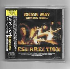 BRIAN MAY + COZY POWELL : Resurrection 1993 Japanese CD Album OBI Japan (Queen)