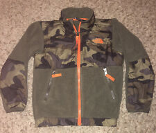 North Face ~Boys Camo Fleece Winter Coat Size 4T ~Jacket VERY GOOD PREOWNED