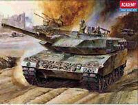 Academy Leopard II 1:48 scale motorized tank model kit 1304