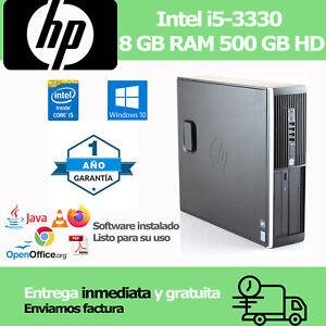 Ordenador Sobremesa Core i5 3,0 Ghz 8gb RAM 500 GB HD   **** 1 AÑO GARANTIA ****