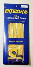 Ektelon All Pro Racquetball Glove, Cabretta Sheepskin, Women's Right L Free Ship