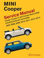 Mini Cooper Cooper S Clubman Service Repair Workshop Manual Bentley Book 2007-13