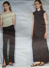 OOP Vogue sewing pattern 2253 Calvin Klein slim knits simple lines 14-18 uncut