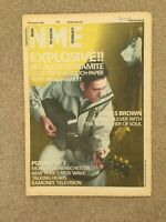 NME Magazine - 15 February 1986 James Brown, Talking Heads, The Ramones