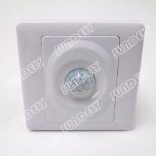 NEW! 360°PIR energy saving Occupancy Sensor Light Switch 200w wall mounted x1