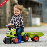 Sit /'n/' Ride Tractor and Trailer Baby Toddler Kids-Ride-On-Tractor-Steering-Push