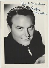 Ralph Edwards TV Star Autograph - Signed 5x7 Fan Photo - This Is Your Life
