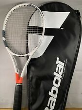 """New listing Babolat pure strike 16x19 4 5/8"""" Tennis Racket Racquet With Case Super Nice"""