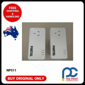 Netcomm NP511 powerline adapters 500mbps x2. Foxtel  AV500  SAME AS DLINK