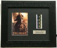 LORD OF THE RINGS - RETURN OF THE KING v1 Original Filmcell Memorabilia COA
