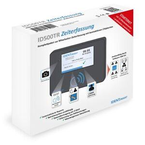 IDENTsmart ID500TR Zeiterfassung inkl.15 Mitarbeiterkarten / für Chipdrive