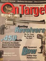 On Target Oct 2002, .450 Marlin, Hunting Revolvers, PSE Thunderbolt Bow