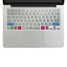 For Macbook Pro Air 13 15 Logic Pro X Shortcut keys Keyboard Cover Skin