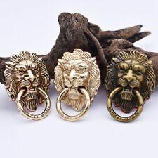 Vintage Lion Head Finger Ring Cell Phone Stand Holder Bracket Practical
