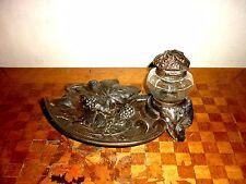 Écritoire encrier en régule bronze Art nouveau DELAUNAY XIX ème 19th art déco