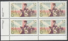 Canada - #1028 United Empire Loyalists Plate Block - MNH