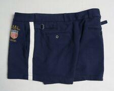 RALPH LAUREN Women Shorts pants L trousers Cotton Navy Olympic team 2012 USA VTG