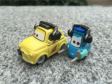 Disney Pixar Car Race Team Luigi & Guido with Headsets Metal Toy Car New Loose