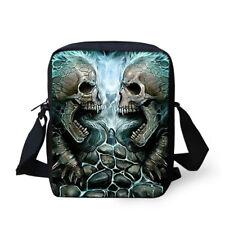Small Skull Fashion Messenger Shoulder Bag Handbag Purse Satchel Sling Bag