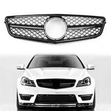 C63 New Style Gloss Black Kühlergitter Für C-Class Benz W204 C300 C350 08-14 BS7