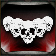 Skull Background 25 -  Airbrush Stencil Template Airsick