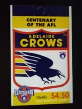 Australia Scott's 1512a. Mnh. Booklet of 10. Adelaide Crows.Sal's stamp store.