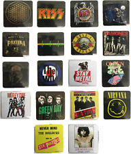 More details for rock bands and metal bands coaster