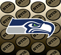 Seattle Seahawks Logo NFL Die Cut Vinyl Sticker Car Window Laptop Wall Decal